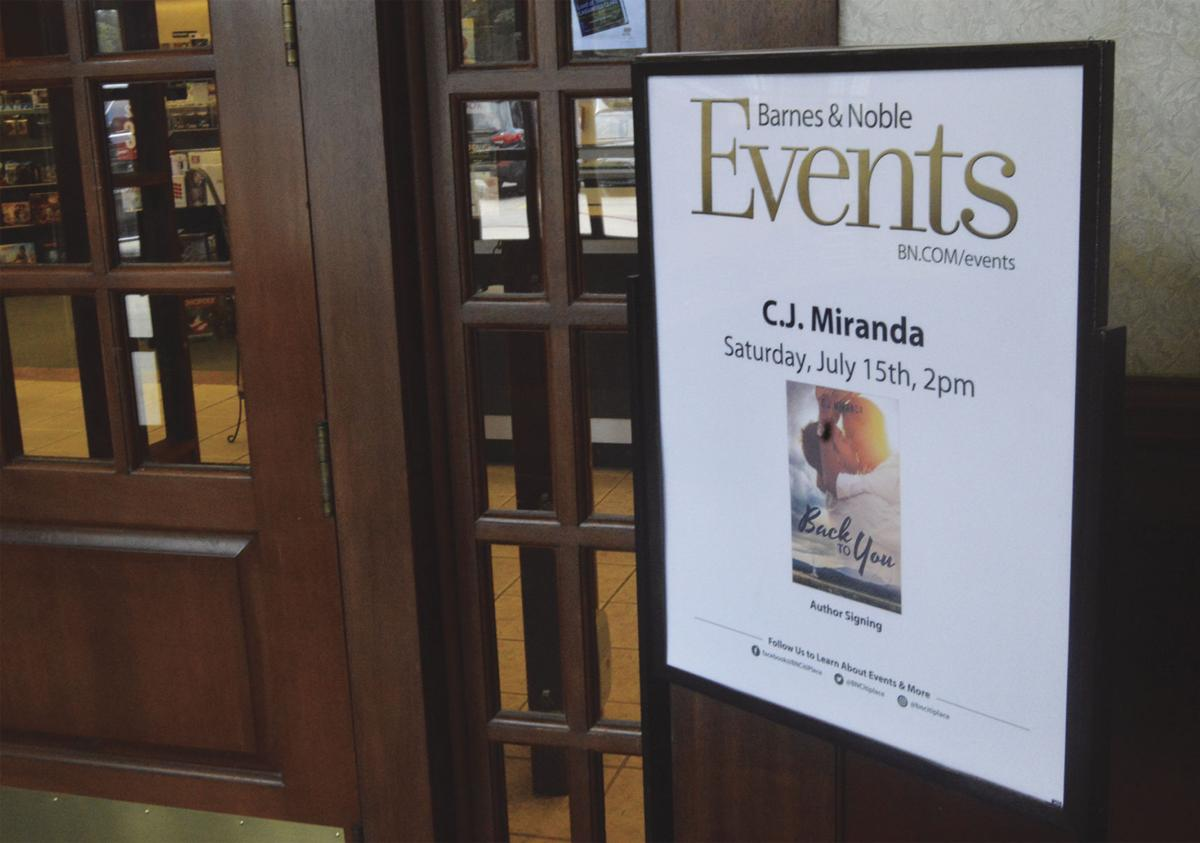 Local author featured at barnes noble book signing arts cj miranda book signing solutioingenieria Image collections