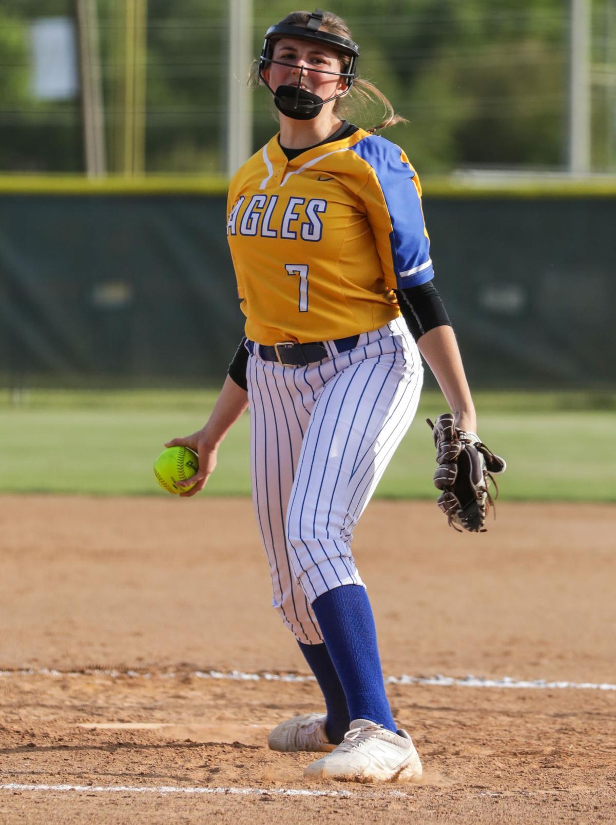 Walker at Live Oak softball Sophia Foster