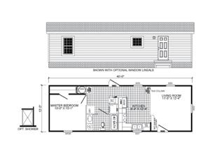 3-Bedroom / 2-Bath 14X72