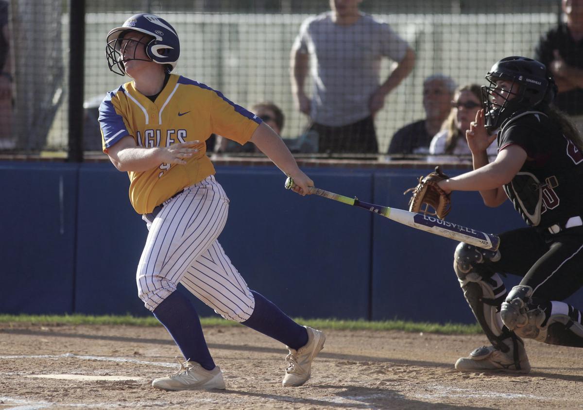 Live Oak softball BreAnna Corkern