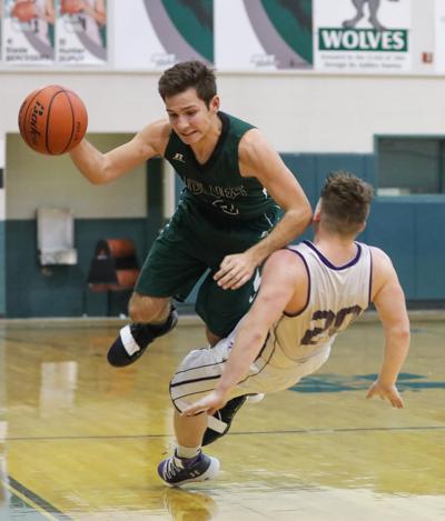 Maurepas vs Holden boys basketball Landon Loupe John Sharp