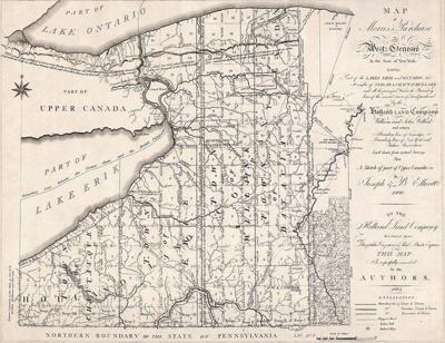 NIAGARA DISCOVERIES: Holland Land Co.'s West Transit Line