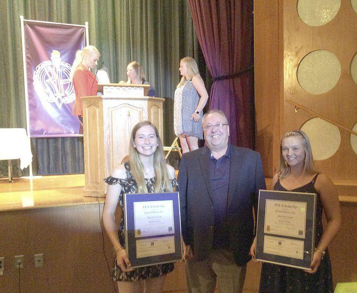 Ford-FFA scholarships awarded to 2 Roy-Hart seniors