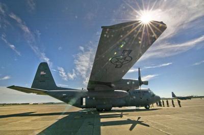 Three C-130 Hercules aircraft making final return to Niagara Falls air base