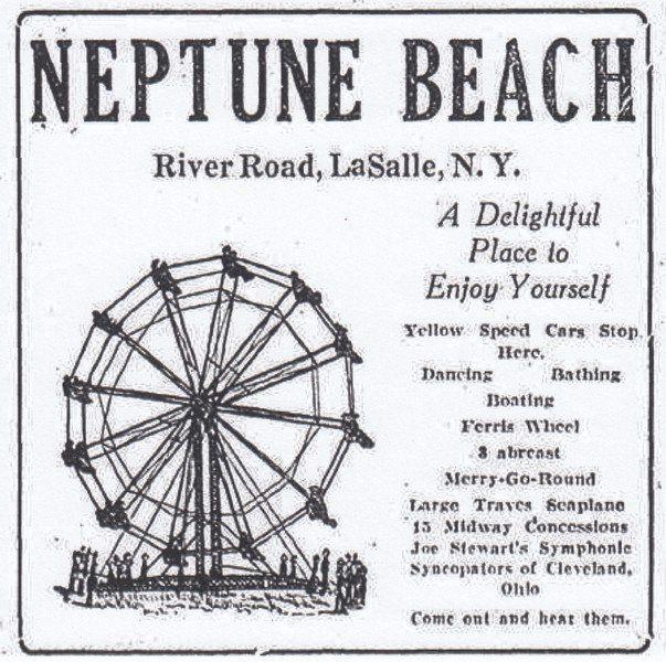 NIAGARA DISCOVERIES: Neptune Beach: Niagara Falls' lost