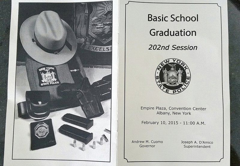 Three Lockport-area residents graduate from state Trooper
