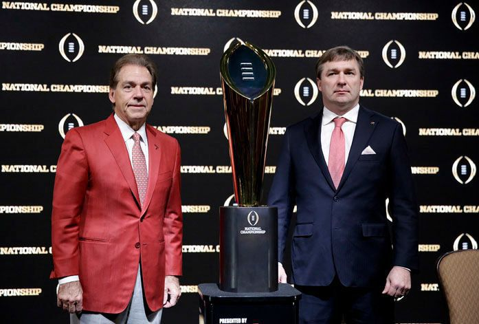Georgia or Alabama will add to SEC's already impressive national title collection