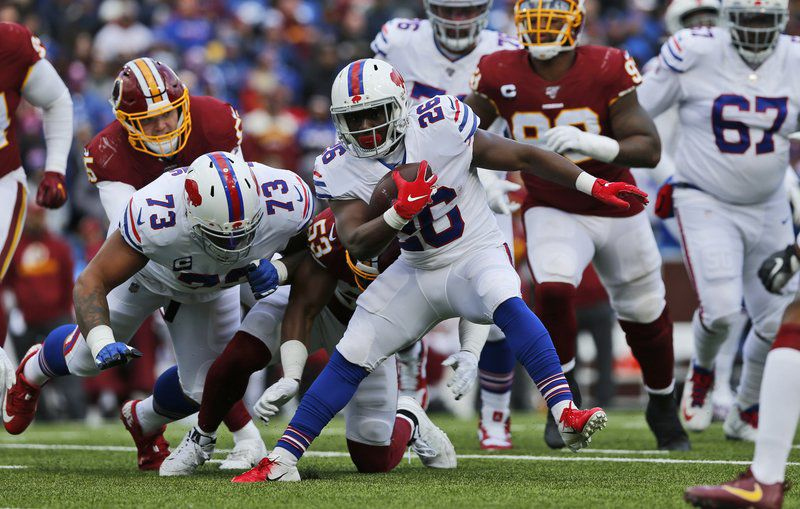 Bills, Singletary outrun Washington, move to 6-2