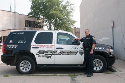 Lpd Names New K9 Officer News Lockportjournal Com