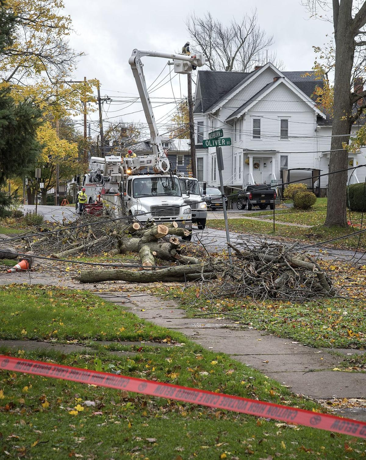 Storm recovery work continues across Niagara County