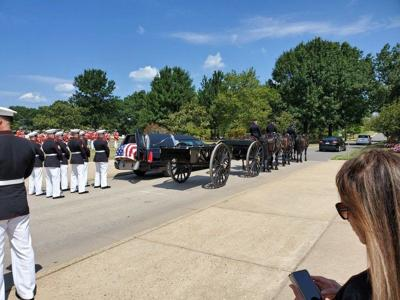 Marine buried in Arlington nearly 70 years after his death
