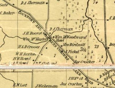 NIAGARA DISCOVERIES: Woodward hotels in Lockport