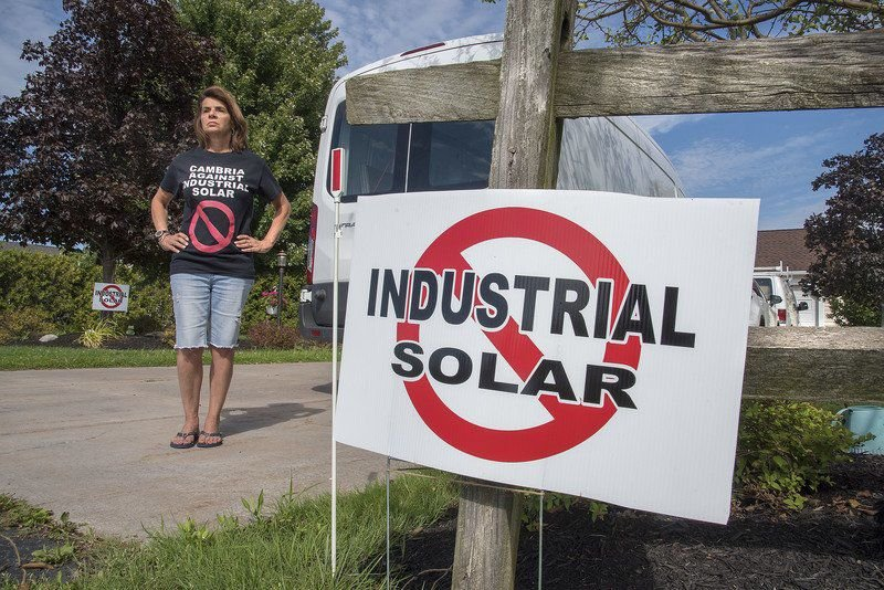 Local residents band together to fight Cambria solar panel project