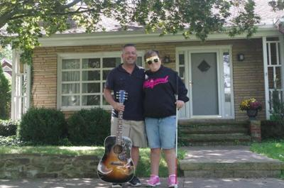 Father, daughter team up with local church to lift spirits