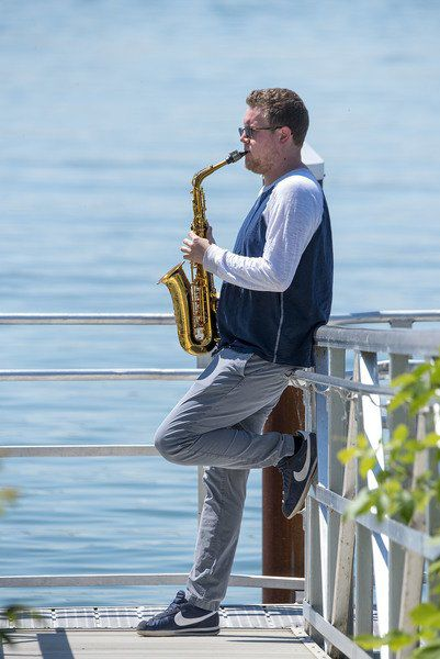 Jon Lehning finds his passion in the deep richness of the saxophone