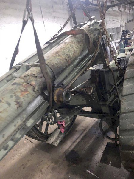 Restored WWI cannon returning to Medina