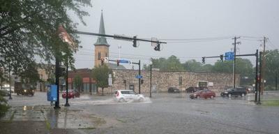 Lockport area hit hard by flash flooding