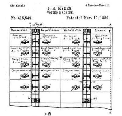 NIAGARA DISCOVERIES: The Myers Automatic Voting Booth