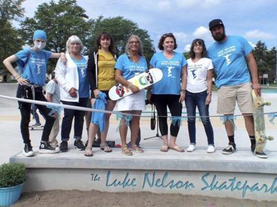 Luke Nelson Skatepark dedicated in Medina