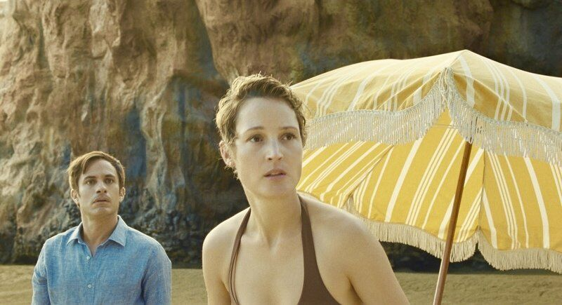 CALLERI: A secluded beach and a beautiful swimming pool entice the characters in two thrillers