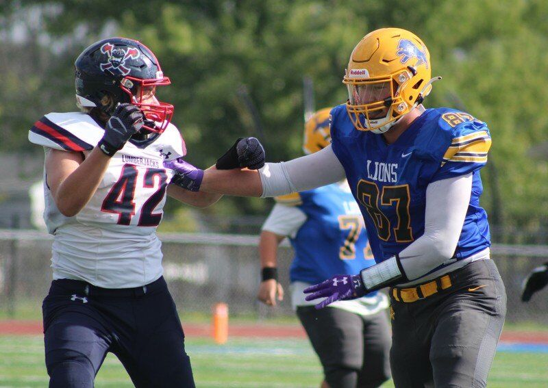 Lockport's Logan Wendt proves himself as one of Section VI's top tight ends