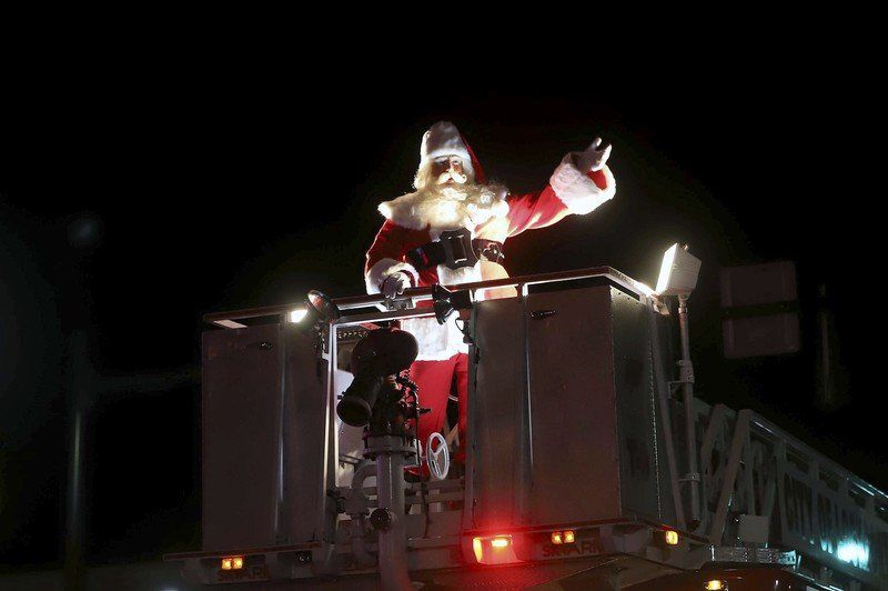 Santa Claus has come to town
