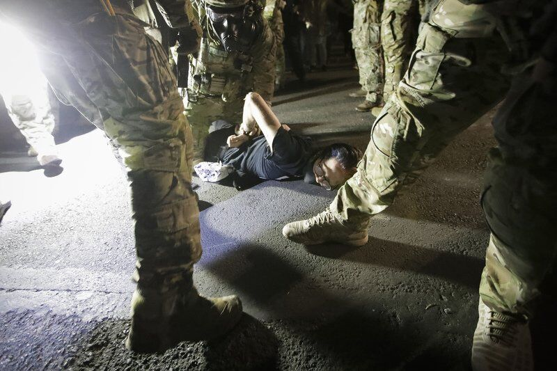 AP analysis: Protesters vary as much as their arrests