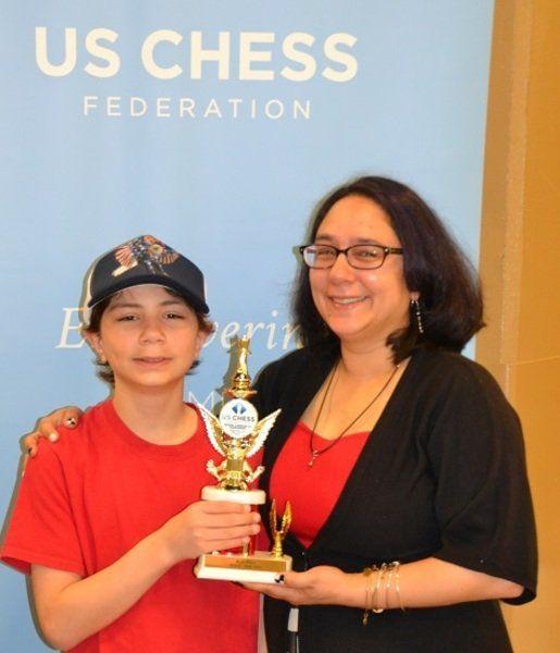 Perkins wins national K-6 Blitz chess award