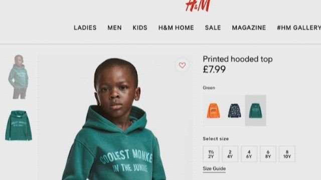 h&m racist monkey