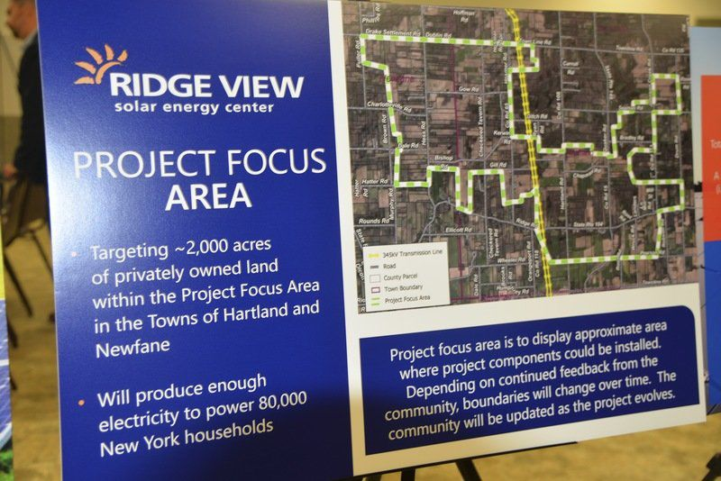 Residents offered closer look at proposed Ridge View Solar project