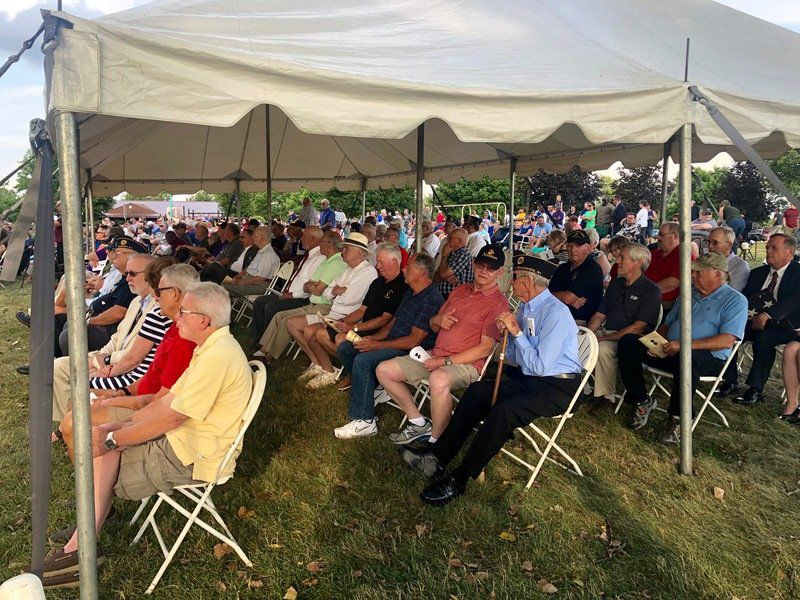 County honors hundreds of local Purple Heart recipients