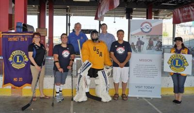 Cecconi helping bring blind hockey to WNY