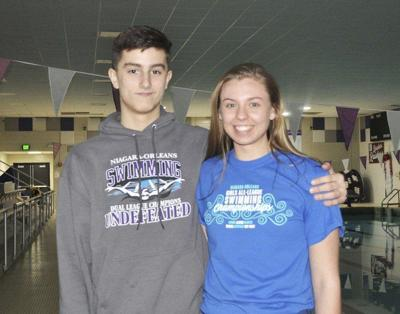 Roy-Hart pair named N-O's top swimmers