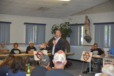 Ortt addresses local group opposing Cambria solar panel project
