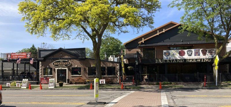 Brickyard Pub and BBQ and the Brickyard Brewing Co. rise from the ashes