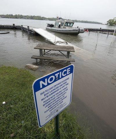 Board eyes less-extensive Lake Ontario flooding