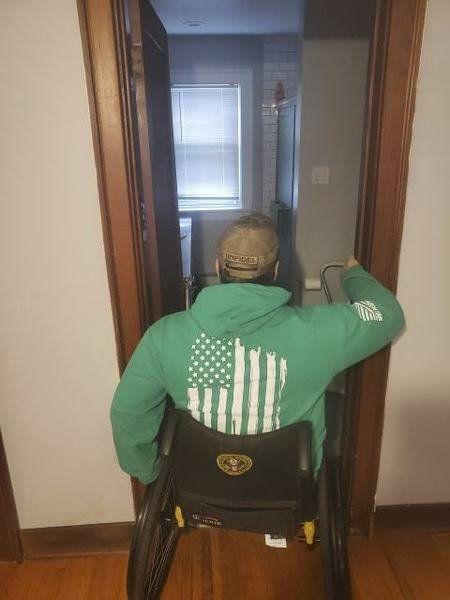 House call: Effort underway to help renovate veteran's Lewiston home