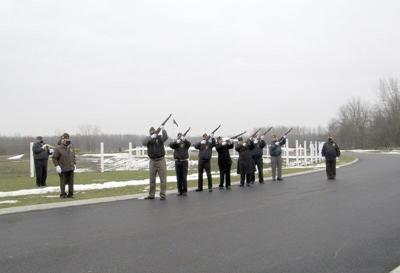 Honor guards on duty at WNYNational Cemetery