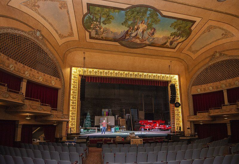 Palace Theater waiting for word of a return