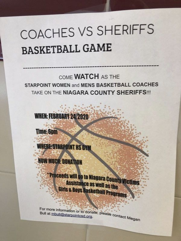 Starpoint hoops, Niagara County sheriffs to play benefit game