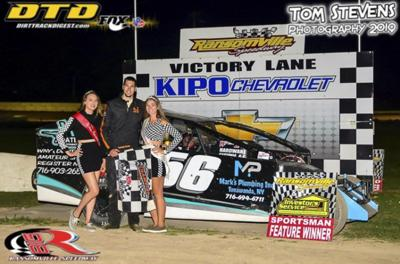 Rudolph takes fifth win of the year at Ransomville
