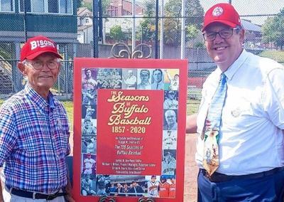 Book on Buffalo baseball history updated
