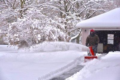 Lockport digs out from record snowfall