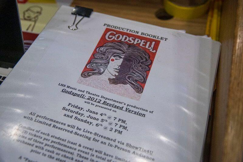 Lockport students get ready for 'Godspell'