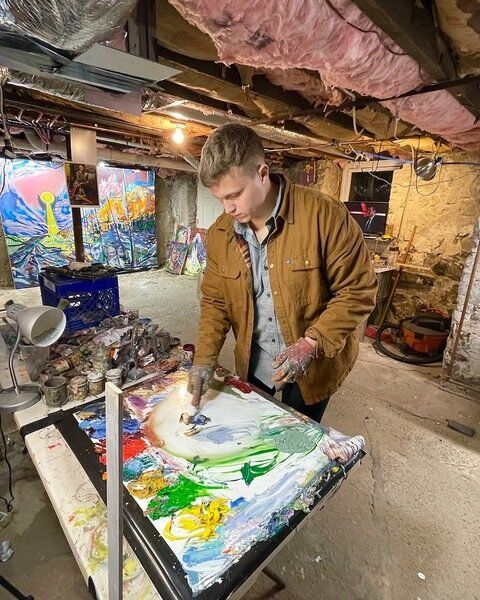 Falls native Fritz Proctor IV is making his mark in the world of fine arts