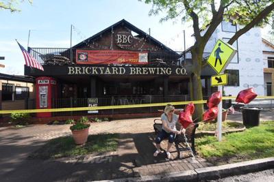 Brickyard fire