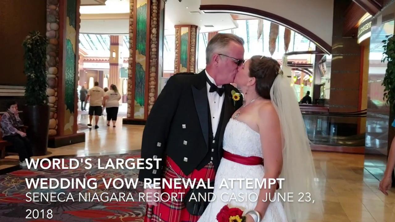 Video Saturdays Wedding Vow Renewal Ceremony In Niagara Falls