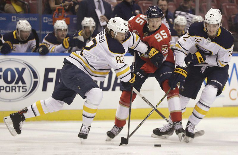 Huberdeau scores 2 as Panthers beat Sabres