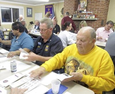 Barker Lions carry out another Blind Seals Campaign