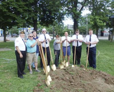 Veterans monument work gets underway